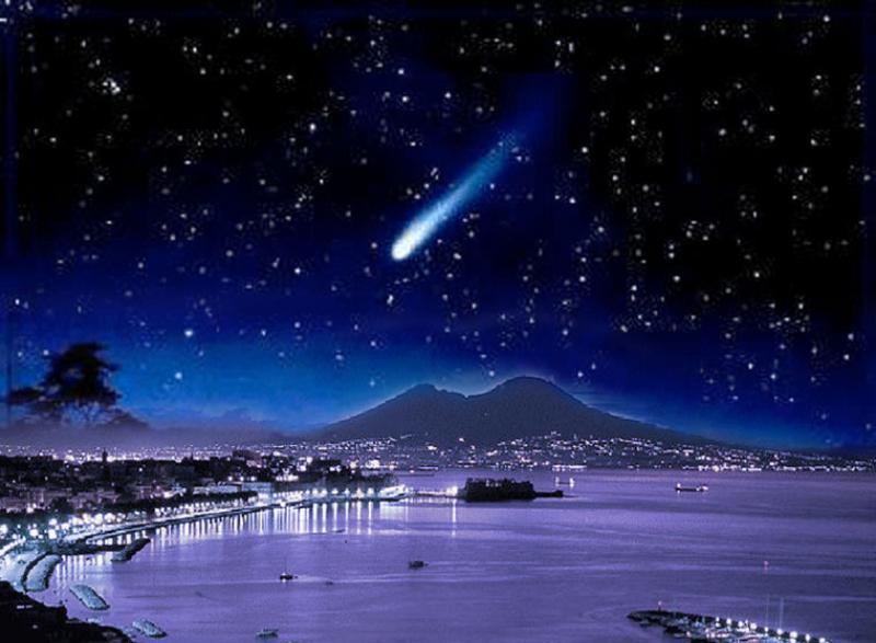 Notte di San Lorenzo a Napoli: Le meteore Perseidi e i luoghi adatti per osservare.